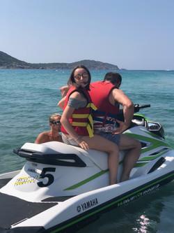 Jet ski à Cargèse