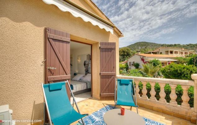 Junior Suite Azuré Ajonc, terrasse privée