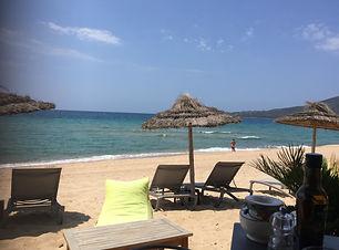 La plage du Santana à quelques centaines