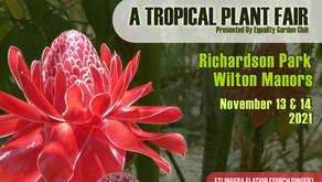 "Equality Garden Club Delays Annual ""A Tropical Plant Fair"""