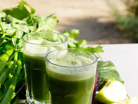 מזונות ירוקים – אלופים בחידוש וניקיון