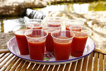 מיץ רמונים בסדנת צום מיצים וניקוי
