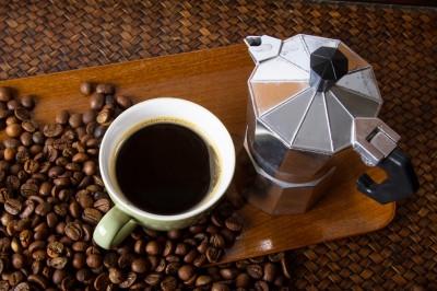 מקינטה, פולי קפה וקפה