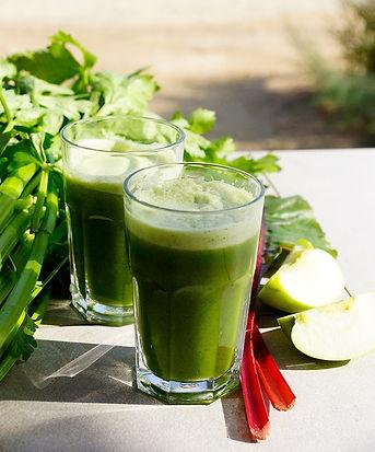 מיץ ירוק בסדנת צום מיצים וניקוי