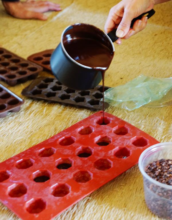 RAW סדנת שוקולד