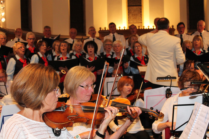 Joint concert with the Essex Police Choir