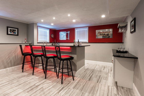Spotlight On:  Basement Remodels