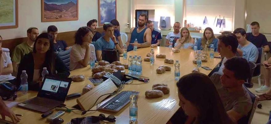 הרצאה לנהגים צעירים, ילדי עובדי חברת מקורות