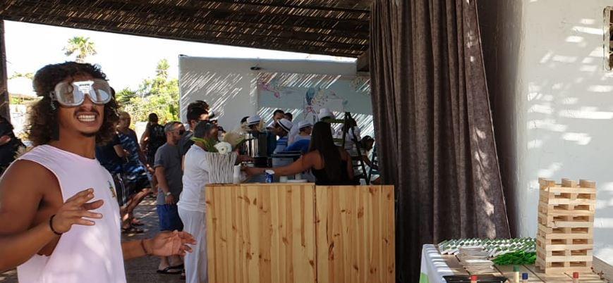 עמדה חווייתית בנושא סכנות אלכוהול בנהיגה באירוע לעובדי חברת varonis