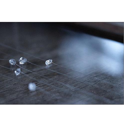 ダイヤモンドクオーツのネックレス