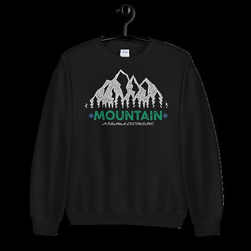 Crew Neck Sweatshirt | Mountain