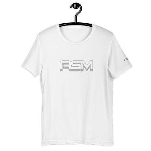 White Unisex Premium Short-Sleeve T-Shirt | ASM
