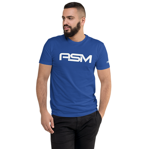 Men's Fitted Short Sleeve T-shirt | Brand ASM