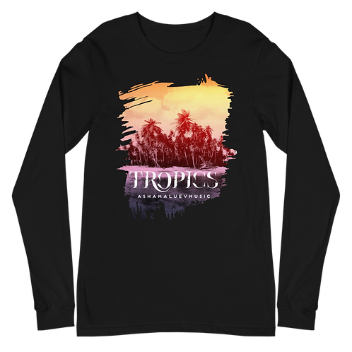 Long Sleeve Tee with Tropics Picture