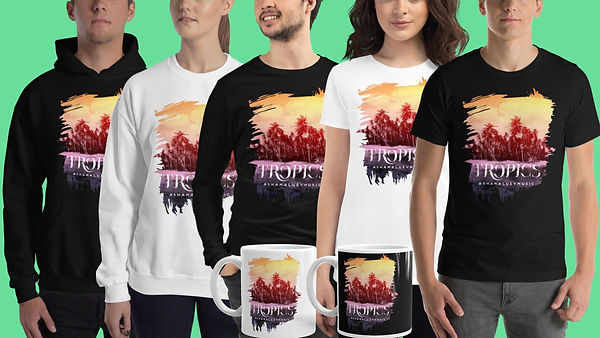 Tropics Collection Merch AShamaluevMusic