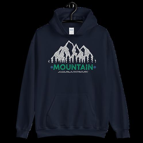 Hoodie Dark Colors | Mountain