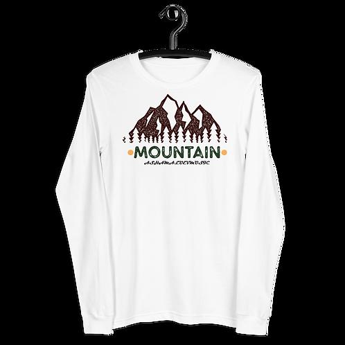 "Long Sleeve Tee ""Mountain"""