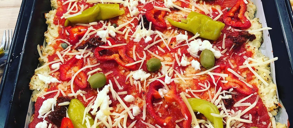 Low Carb Blumenkohl Pizza