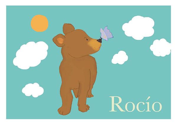 Rocio geboortekaartje zonder snijtekens_