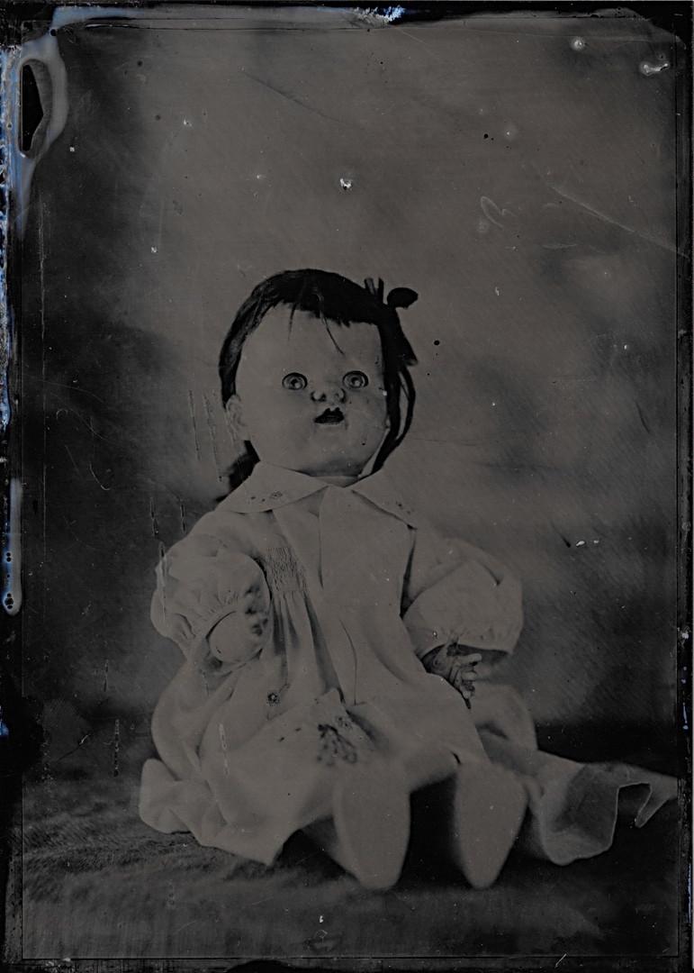 Dolls Ferrotype