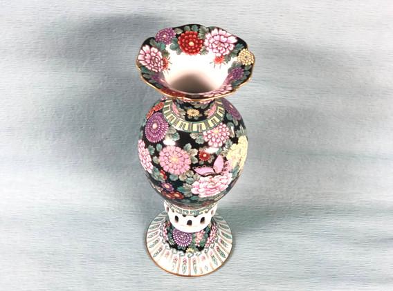 Iroe Deco Urn   Koransha US   Japanese Premium Porcelain