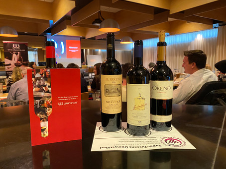 Tuscans Wine Seminar with North American Sommelier Association 2020