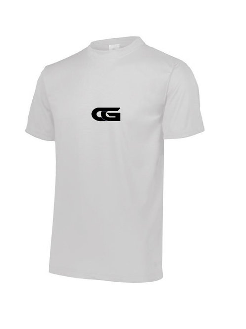 "White Dry Fit T- Shirt ""CG"""