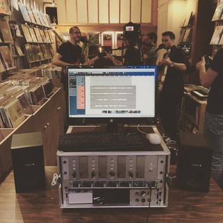 Session enregistrement + vidéo live