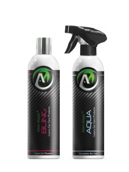 Wash & Wet Coat Rinse - Alien Magic Bling / Aqua