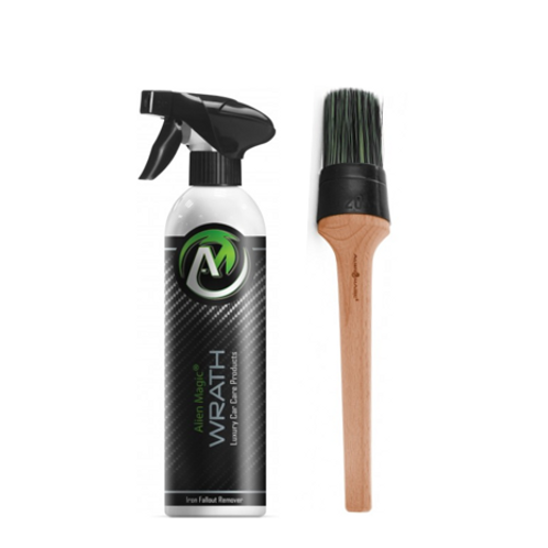 Iron Fall Out Remover Wheel Cleaner & Detailing Brush - Alien Magic Wrath