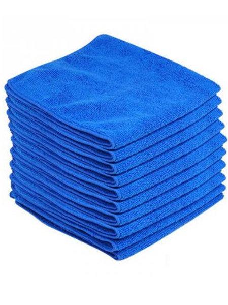 Premium 350gsm Microfibre Cleaning Cloths 10 Pack