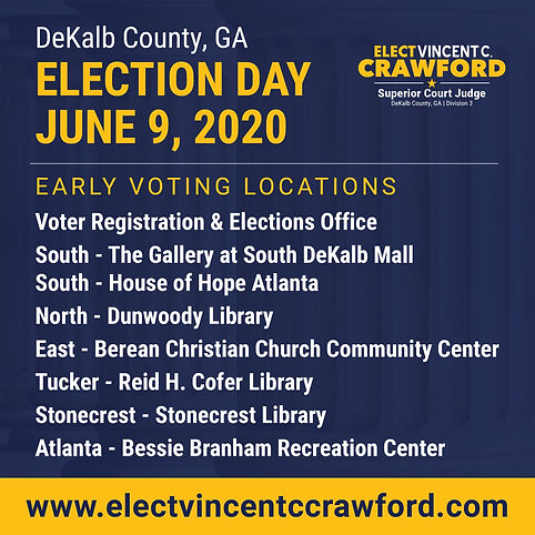 IG early voting locations - crawford cam