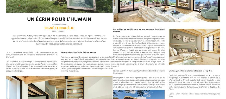 """Interview pour le magazine """"Vivre ma maison"""""""