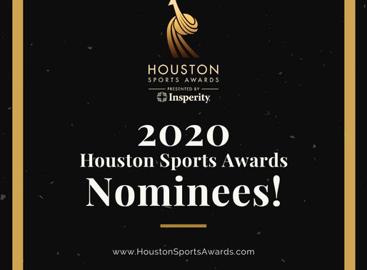 Harris County - Houston Sports Authority Announces Finalists for 2020 Houston Sports Awards