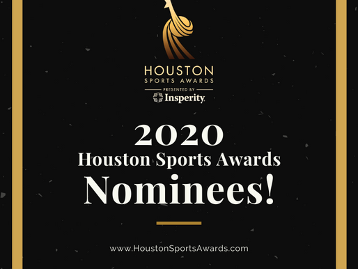 Harris County - Houston Sports Authority Announces Finalists for 2020 Houston Sports Awards