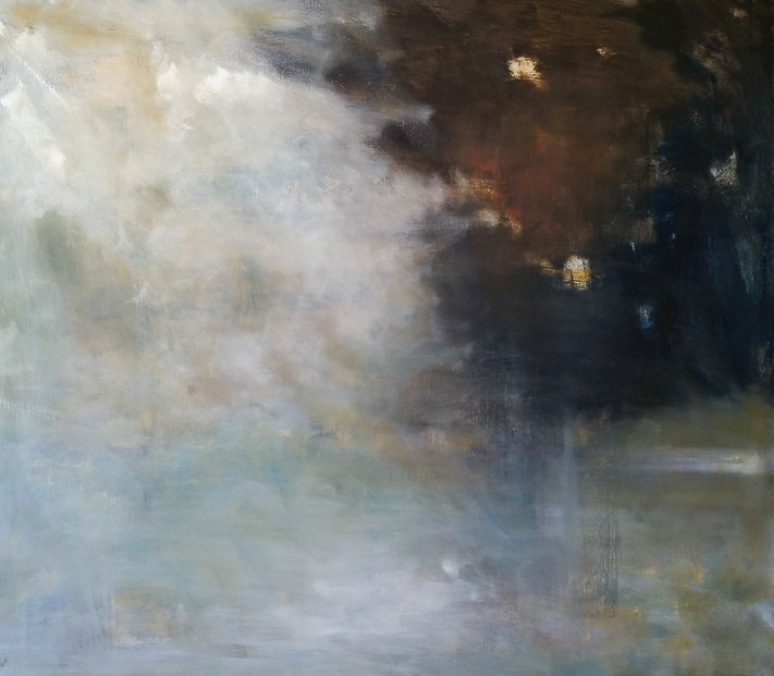 untitled 14 - 94x107cm oil on linen