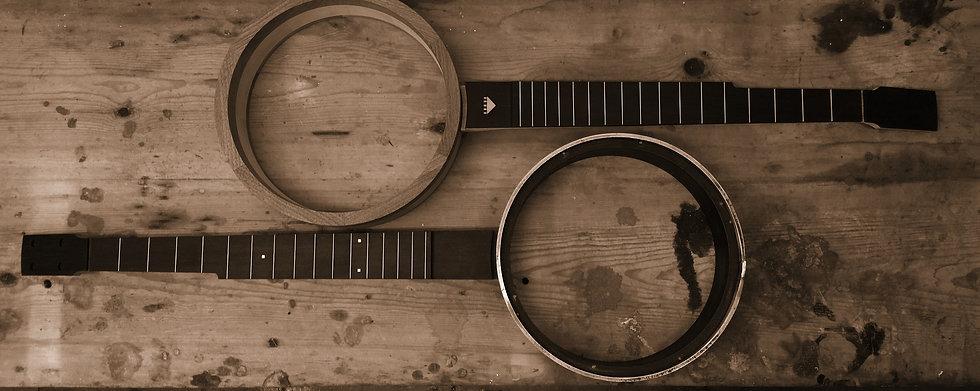 Darkwood-Hand crafted banjos