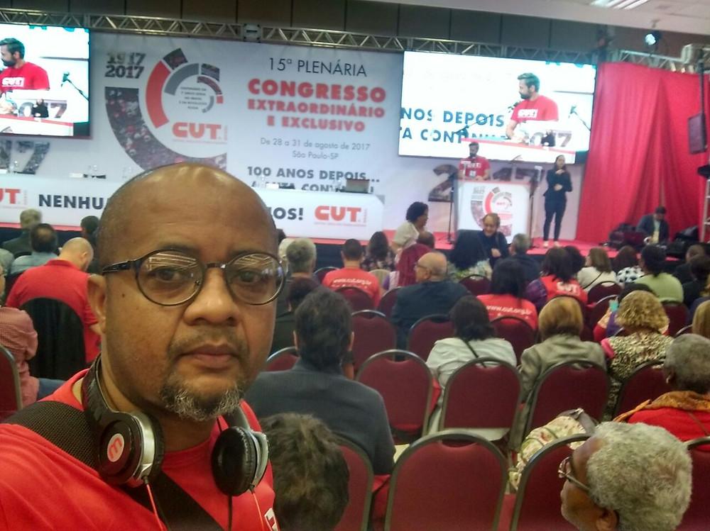 Adaílton Patrício do Nascimento, Secretário de Relações Sindicais e Sociais do Sindicato dos Bancários de Guarulhos e Região