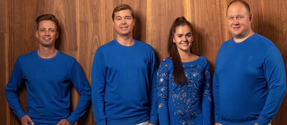 Eesti paviljoni tiim kannab Katrin Kuldma loodud rõivaid