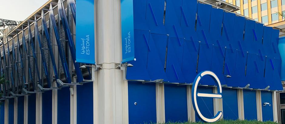 Minister Andres Sutt avas Dubai maailmanäitusel osaleva e-Eesti paviljoni