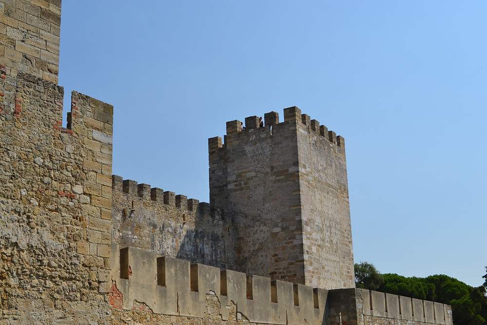 Lisbon Family Travel, Lisbon with kids, Vegan Lisbon, Castelo de Sao Jorge