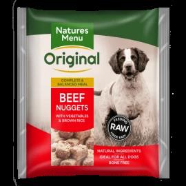 Natures Menu - Beef Nuggets (1kg)