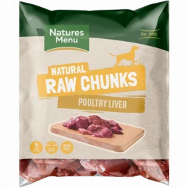 Natures Menu - Liver Chunks 1kg