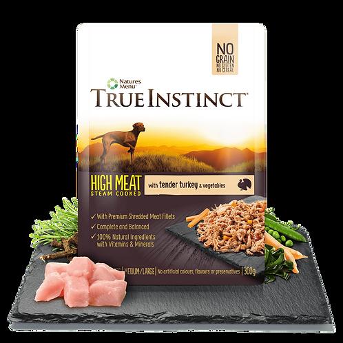 True Instinct High Meat Fillet Pouch Adult Dog (Single) 300g