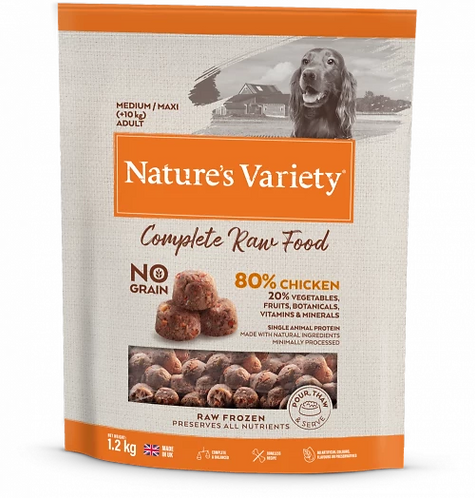 Nature's Variety Food CHICKEN FOR ADULT DOGS