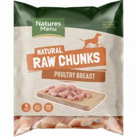 Natures Menu - Poultry Breast Chunks (1kg)