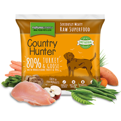 N/M Country Hunter - Turkey & Goose Nuggets (1kg)