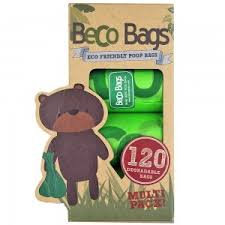 Beco Poop Bags 120 Pack - Biodegradable