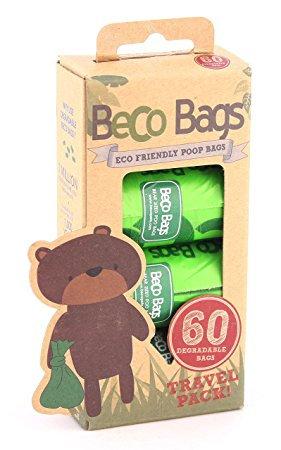 Beco Poop Bags 60 Pack - Biodegradable