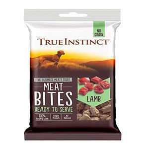 True Instinct Freeze-Dried Lamb Meat Bites Dog Treats 20g